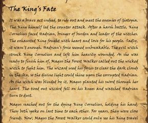 The King's Fate